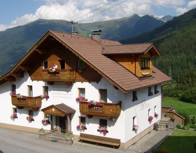 Sennhof Huter. Gipfelpanorama