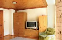 Wohnzimmer Apartment Hornspitz | © Bleisch