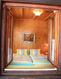 Schlafzimmer Apartment Gosaukamm | © Bleisch