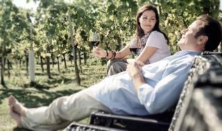 Relaxen im Weingarten