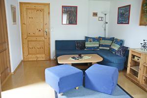 Cosy living room of holiday apartment Schlosspark | © Manuela Sommerer
