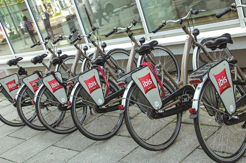 Fahrradverleih / Urheber: ibis Hotels Dresden / Rechteinhaber: © ibis Hotels Dresden