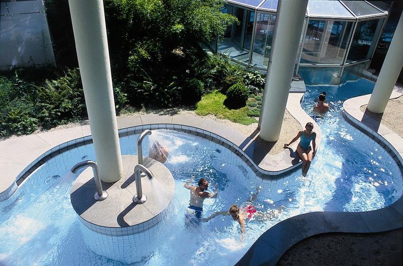 Pool außen