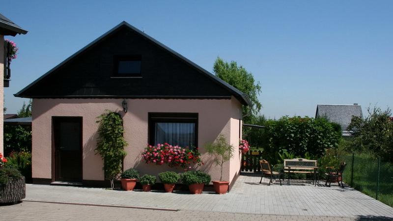 Ferienhaus mit Außensitz
