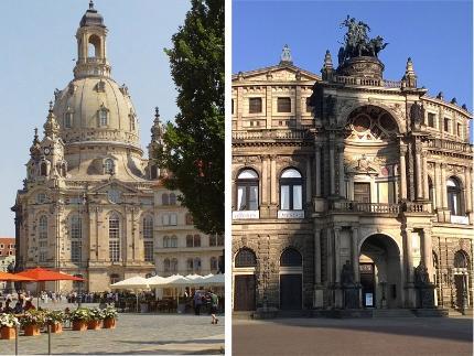 Alte und neue Glanzlichter Dresdens Tagesprogramm D: Stadtführung & Führung Gemäldegalerie und Semperoper 10:30 Uhr
