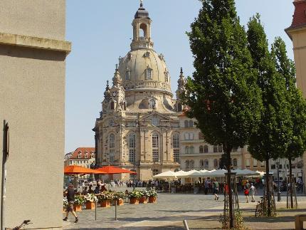 Alte und neue Glanzlichter Dresdens Baustein 1 (Altstadtführung mit Innenbesichtigung der Frauenkirche) - Kind 0-16 Jahre