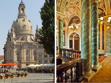 Alte und neue Glanzlichter Dresdens Programm D: Altstadtrundgang und Führung in der Semperoper