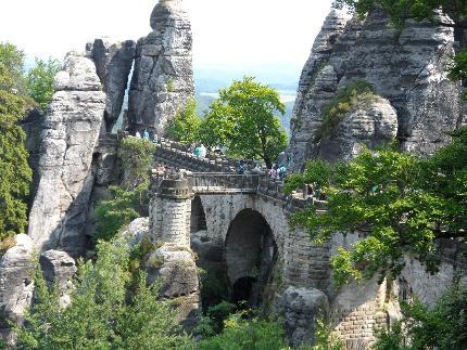 Rundfahrt durch die Sächsische Schweiz