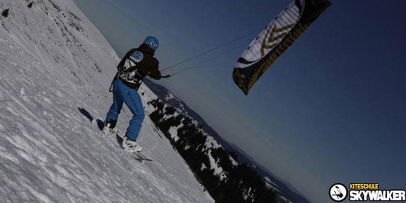 Snowkiten am Feldberg - Tageskurs