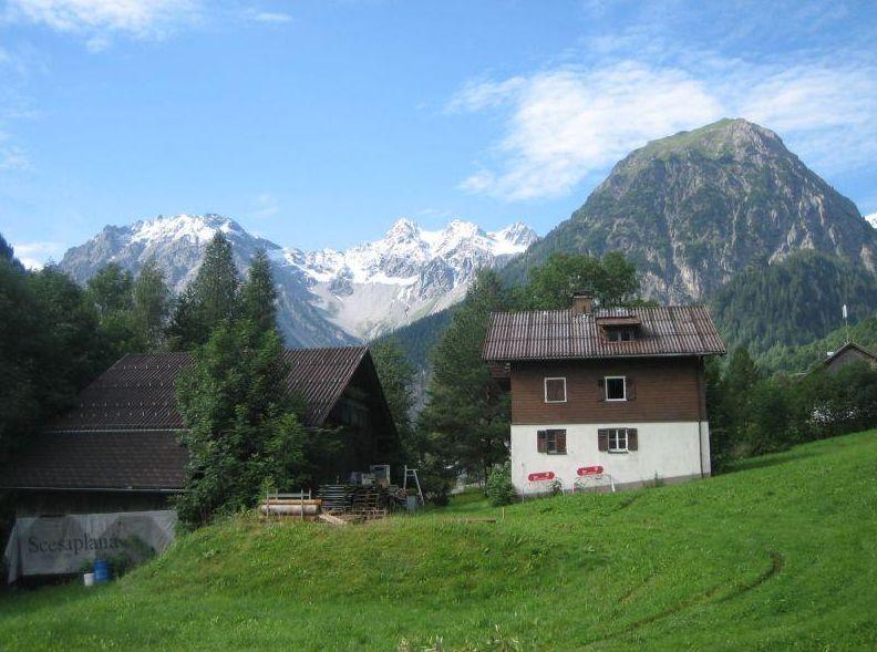Dieses Bild vergrößern von Ferienhaus  Alpila (Brand). Ferienhaus