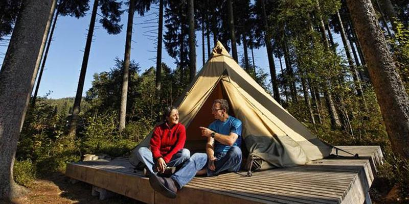 "Glamping ""Chez Alfons"" am Schluchsee"