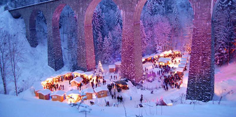 Adventwanderung durch die Ravennaschlucht zum Weihnachtsmarkt
