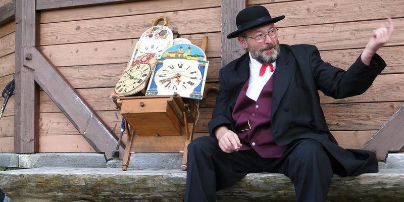 """Wanderung: """"Uhren, Speck und Kirschwasser - mit dem Uhrenträger von Kloster zu Kloster"""""""