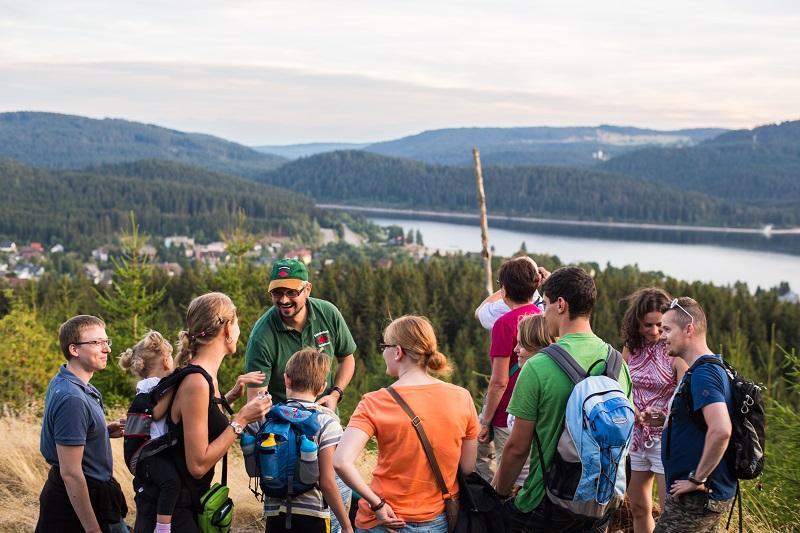 Erlebnis: Schwarzwaldglühen - Sonnenuntergangswanderung in Schluchsee
