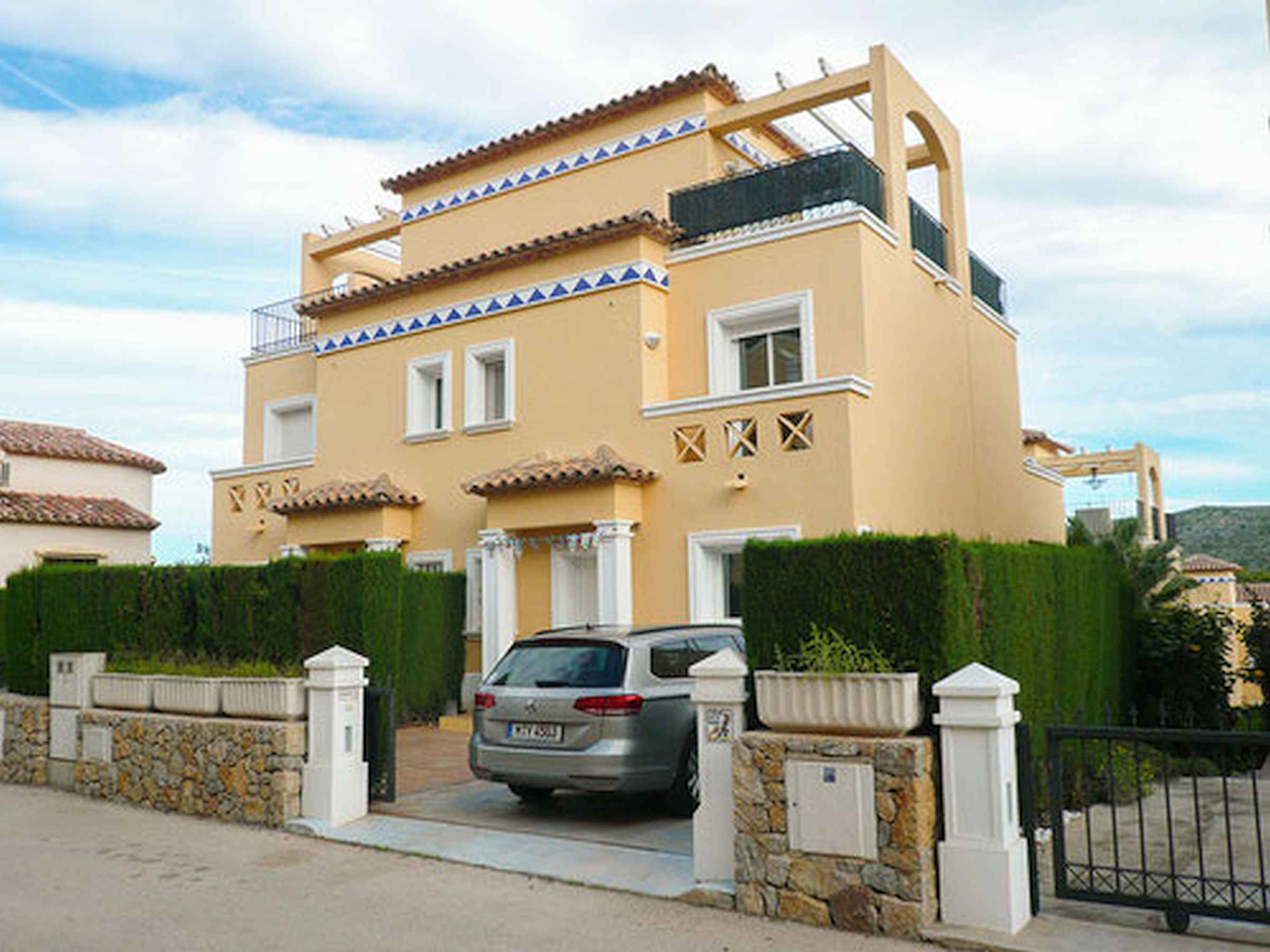 Golf holiday house in muntanya de la sella/pedreguer, spain ...