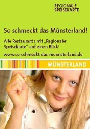 Regonale Speisekarte Münsterland