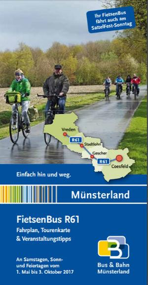 Fahrradbus Münsterland R61