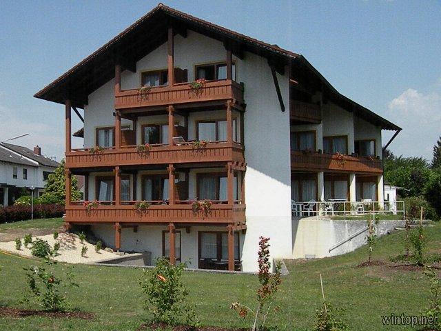 Appartementhaus Inntal - Nichtraucherhaus (Bad Füssing). Zwei-Raum-App.- 2 Pers.- EG ca. 45-50qm
