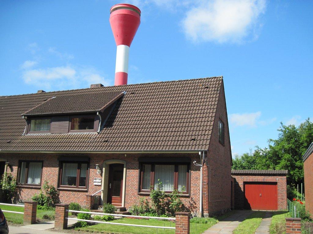 Haus Robbe mit Whirlpool (Brunsbüttel). 2- Raum Ferienhaus 7581001