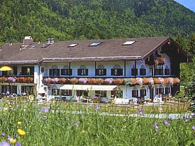 Beim Wiesenhansen (DE Ruhpolding). Ferienwohnung - 1 - (55qm) Terrasse, Küche extra, 1 Schlaf- und 1 Wohnzimmer, max 2 Personen