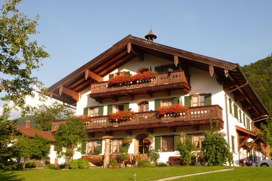 Dammerer Hof (DE Ruhpolding). Ferienhäuschen (30qm), Terrasse, Küche extra, 1 Wohn-/Schlafzimmer, max 2 Pers, WLAN