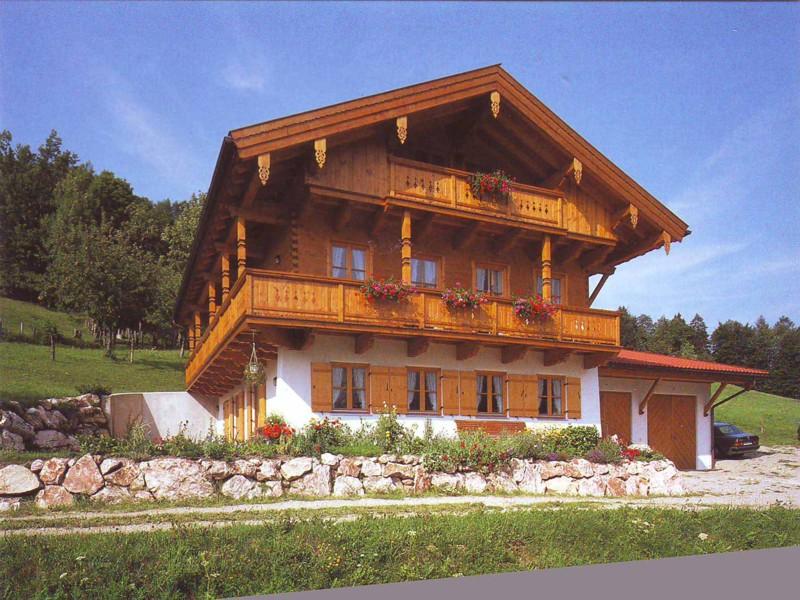 Leiterhof (DE Ruhpolding). Ferienwohnung (80qm), Balkon, Küchenzeile, 1 Schlaf- und 1 Wohn-/Schlafzimmer, max 4 Personen