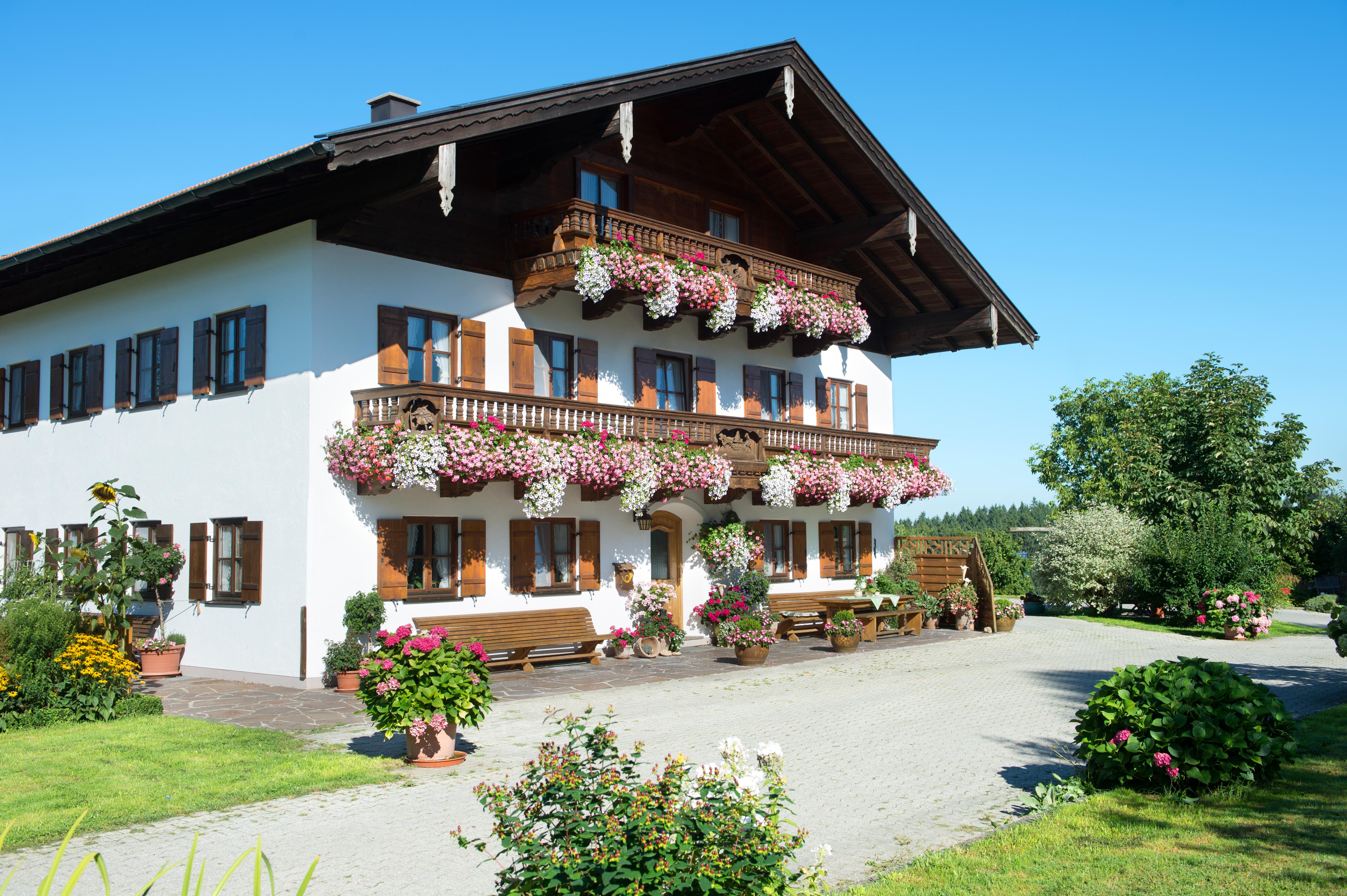 schnaiterhof de siegsdorf ferienwohnung balkon chiemgau landkreis traunstein. Black Bedroom Furniture Sets. Home Design Ideas