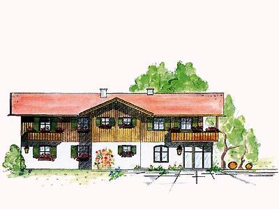 Haus Hager (DE Reit im Winkl). (1) Zwei-Raum-Ferienwohnung 30qm, Dusche/WC, Extra-Schlafzimmer, Küchenzeile, Balkon