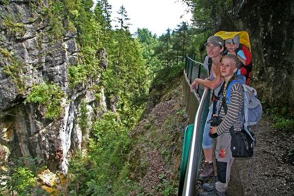Geführte Wanderung über Gießenbachklamm zur Schopperalm