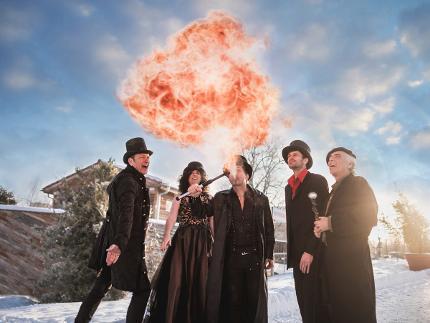 """Winterzauber: """"Magische Hüttenzauberei"""" - Zauberhaftes Abendessen im Archeschiff"""