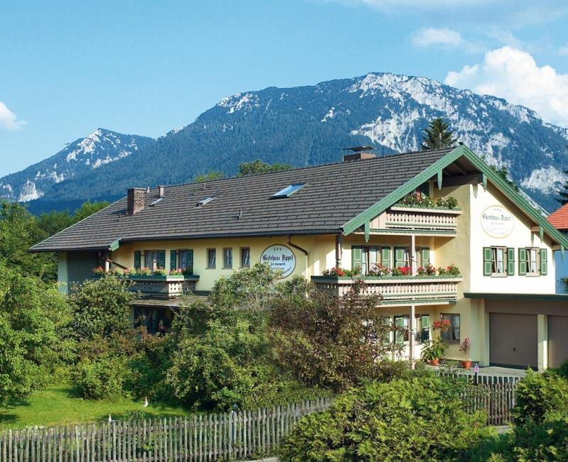 Haus Dippel (DE Ruhpolding). - 5 - Ferienwohnung (37qm), Balkon, Küche extra, 1 Schlaf- und 1 Wohn-/Schlafzimmer, max 3 Pers, WLAN