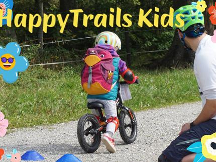 Kinder Mountainbike Tageskurs - Radl Wichtel 2-5 Jahre - Maloja Spielplatz im Bikepark Samerberg