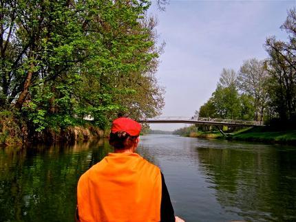 Canadier-Tagestour nach Wasserburg