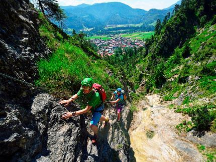 Klettersteig Tour am Hausbachfall