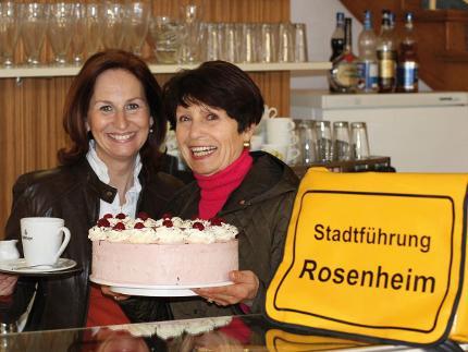 """Stadtführung """"Rosenheimer G'schicht'n und eine süße Sünd"""""""