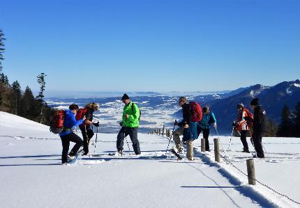SchneeschuhSchnuppern - Einsteigerkurs Schneeschuhgehen