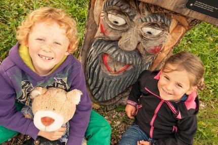 Sagen-Wanderung für Familien mit Kinder