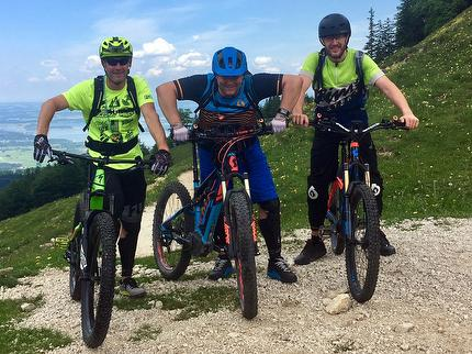 """E-Mountainbike AllMountain Fahrtechnikkurs"" - für Fortgeschrittene der E-MTB Fahrtechnik"
