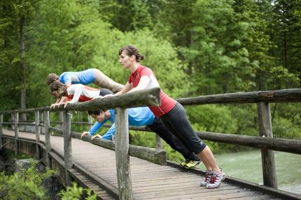 Outdoor Training am Jenbach - Fitness draußen