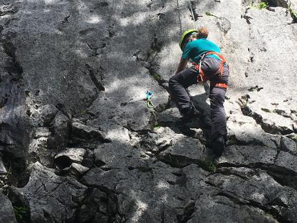 Kletterkurs von der Halle an den Fels - Einführungskurs