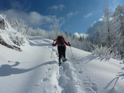 Schneeschuhwochenende für Frauen im Chiemgau