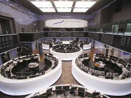 Besuch der Frankfurter Wertpapierbörse