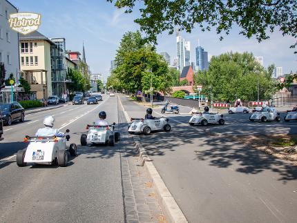 Hotrod Tour Frankfurt, Teamevents, Sightseeing, Incentives