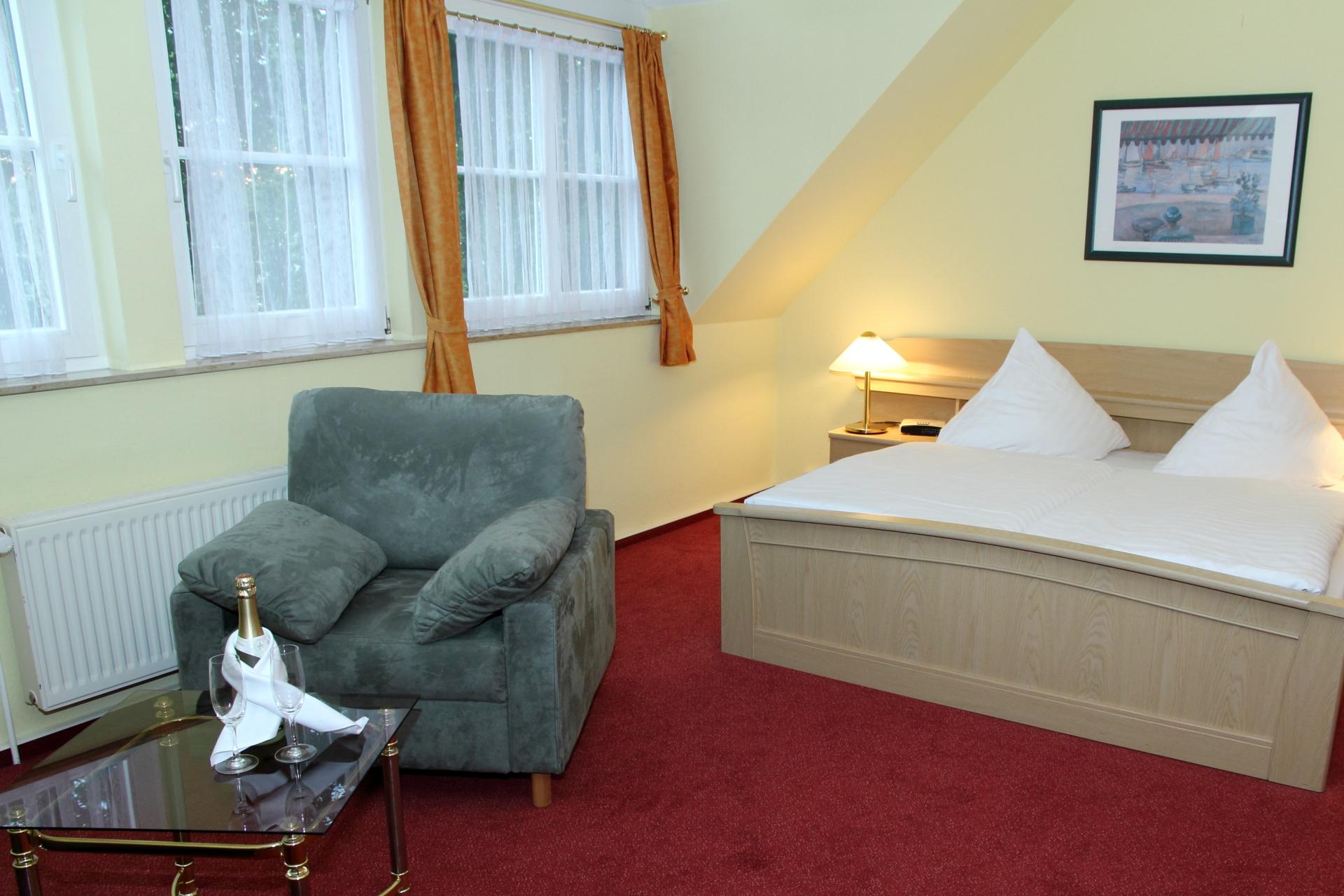 Hotel & Restaurant Kranichsberg Doppelzimmer