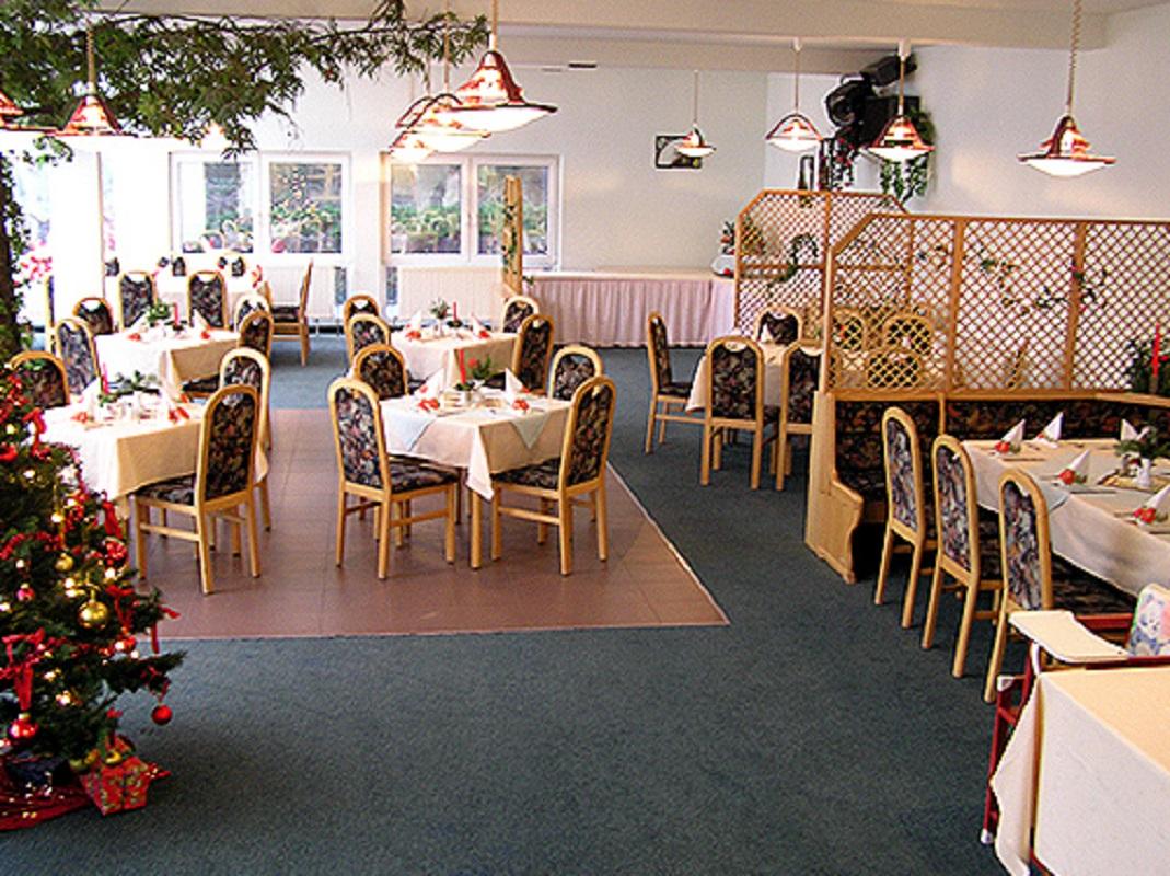 Waldhotel Seelow Frühstücksraum