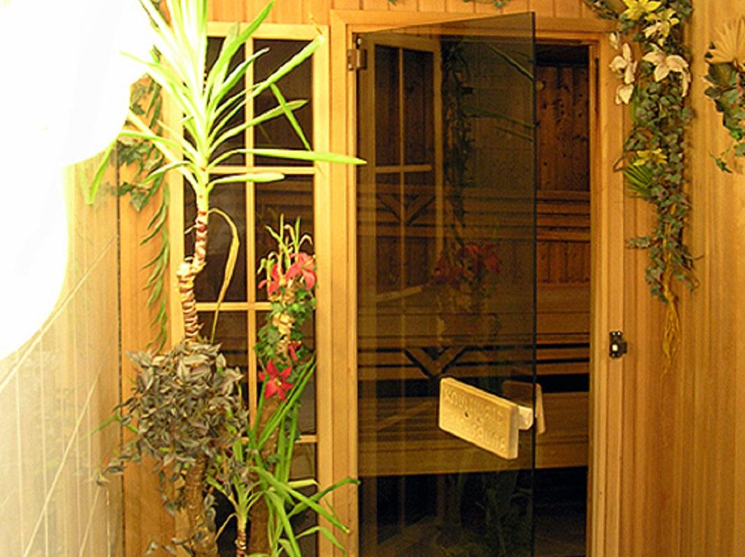 Waldhotel Seelow Sauna