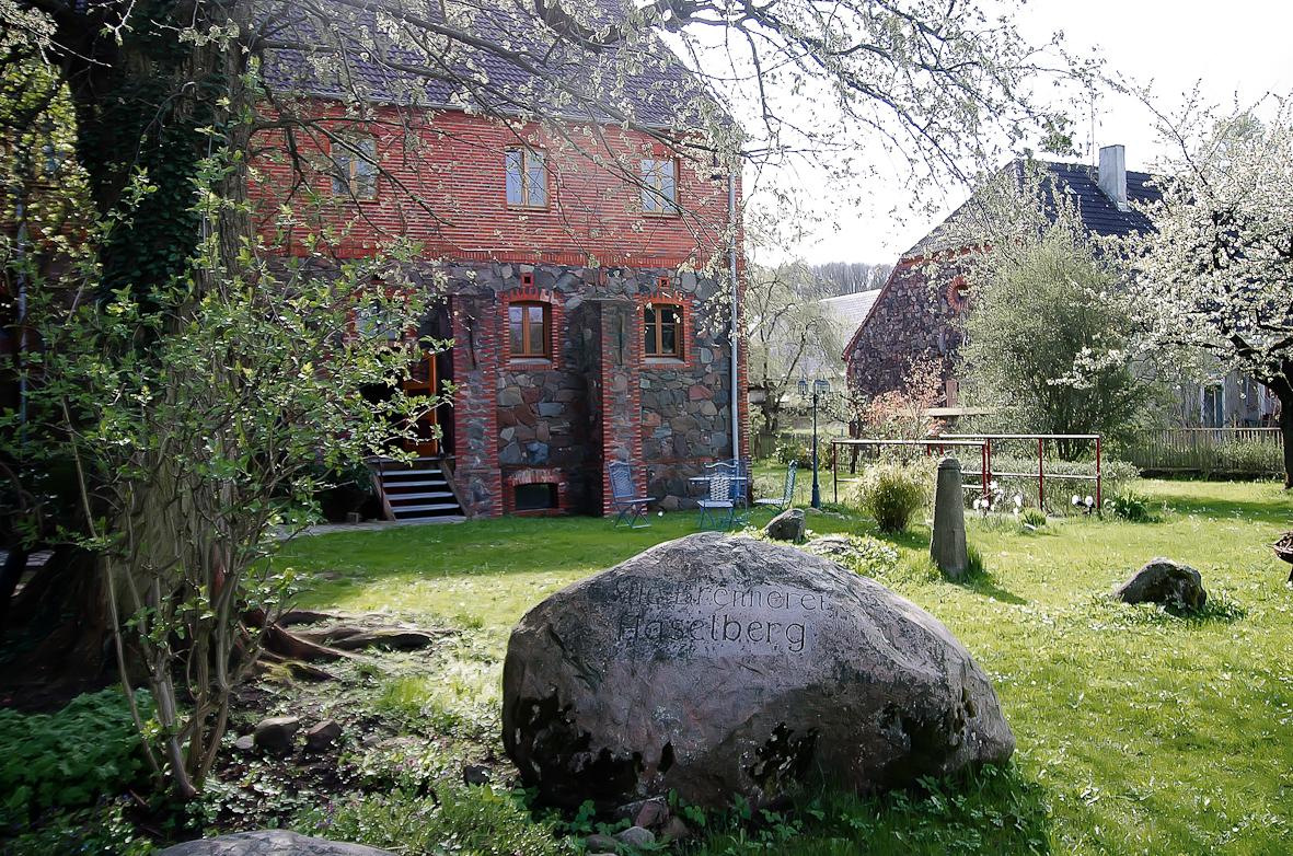Alte Brennerei Haselberg Garten