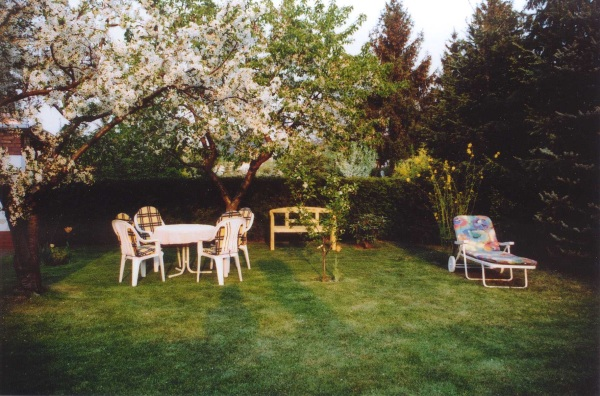 Garten Ferienhaus Lehmann in Calau