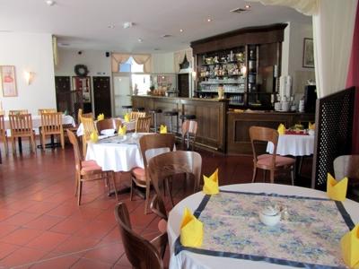 Restaurant-Ansicht