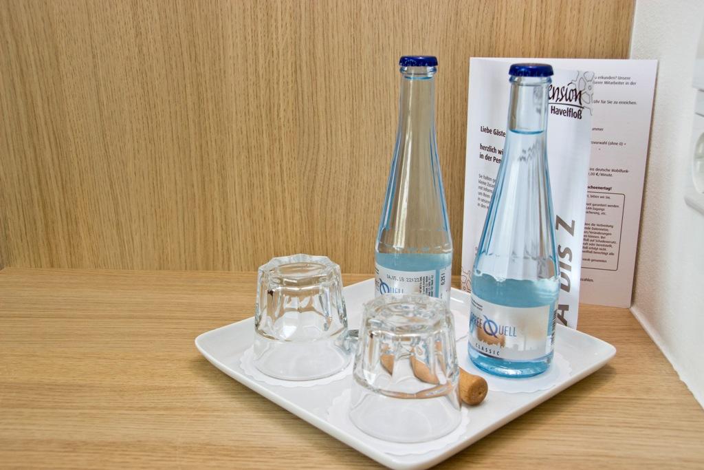 Galeriezimmer - Flasche Wasser pro Person inklusive
